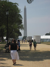 Lena and the Washington Monument