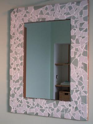 Wendy 39 s candies miroir mosa que - Mosaique de miroir casse ...