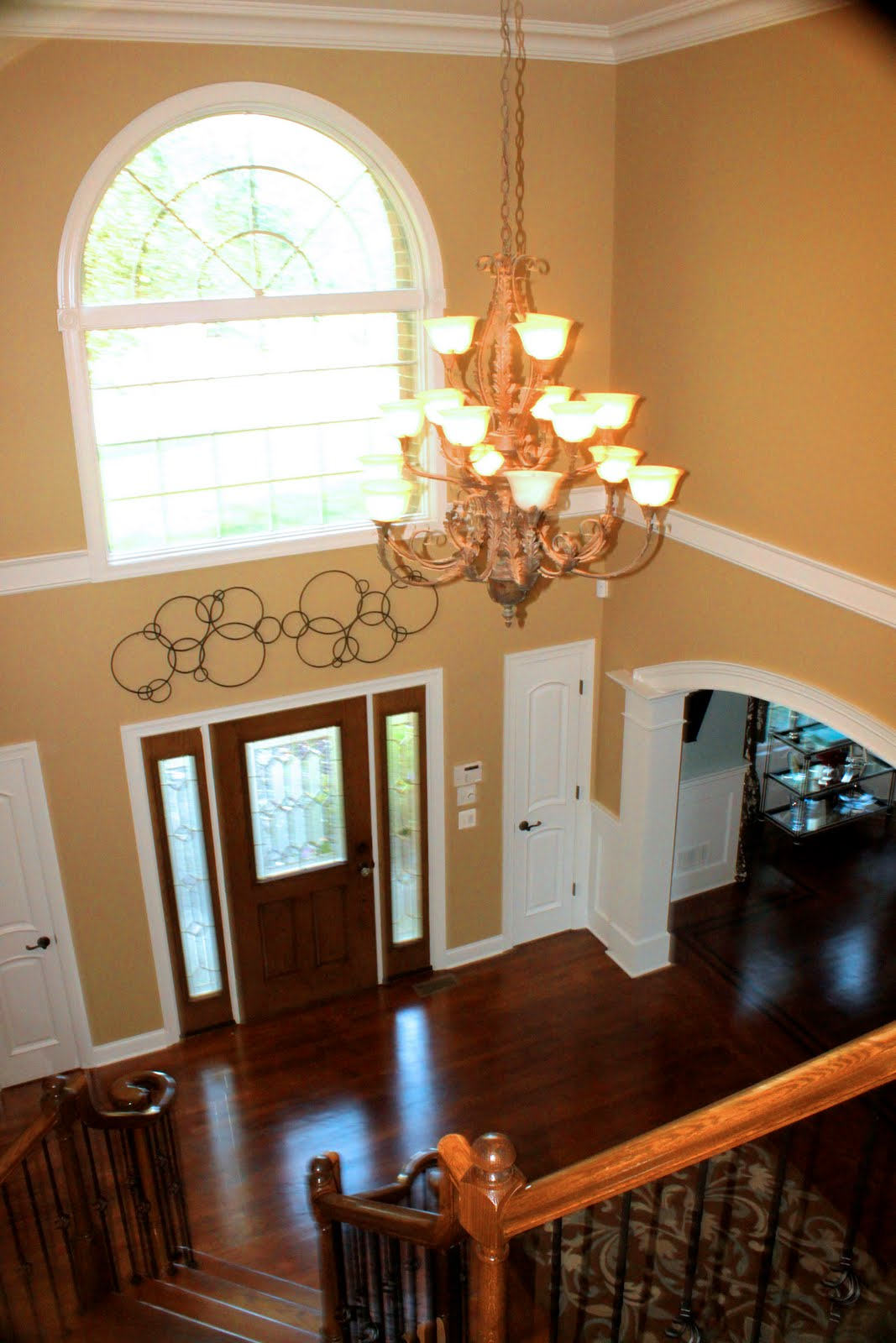 Husker dream homes bright ideas for your west omaha for Foyer ceiling design