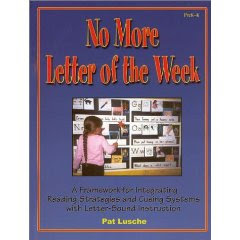 No More Letter of The Week