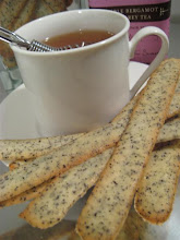 honey earl grey crisps