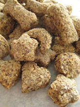 Wheat free tuna biscuits for DOGS