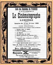 Rayon X au Cinematographe Lumiere 1898