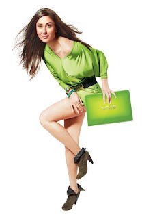 Kareena Kapoor Sony Vaio Photoshoot 2010