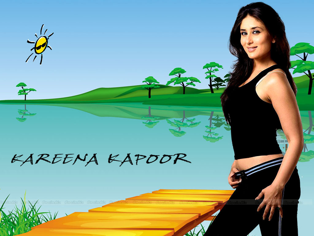 Kareena Kapoor Hot Body Show Wallpapers 6
