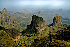 Mountains in Northern Ethiopia