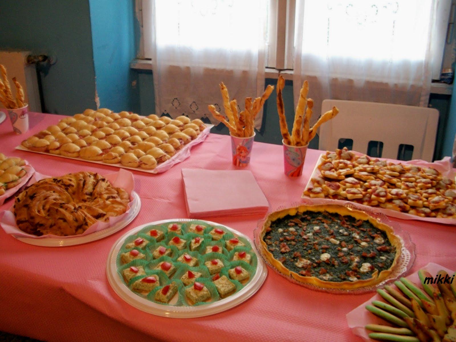 Estremamente profumi dalla cucina: Buffet compleanno Giorgia SQ63