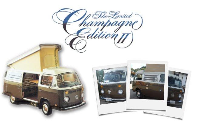Volkswagen T2 Champagne Edition
