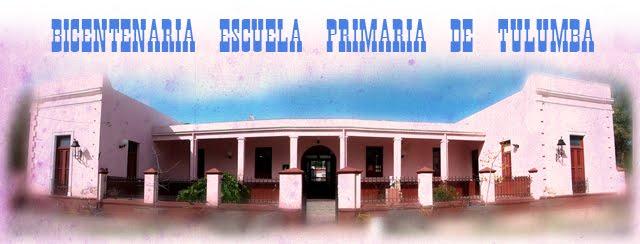 Bicentenaria escuela primaria de Tulumba