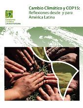 CAMBIO CLIMÁTICO: REFLEXIONES DESDE Y PARA AMÉRICA LATINA