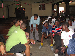 NBLSA members talk to students in Haiti