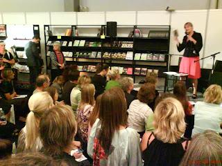 Karen Lumholt på iværksættermessen