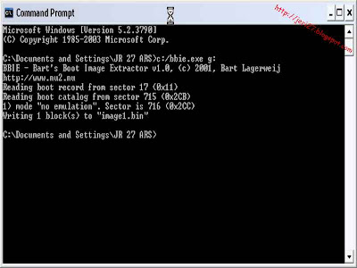 proses pembuatan image bootable windows xp