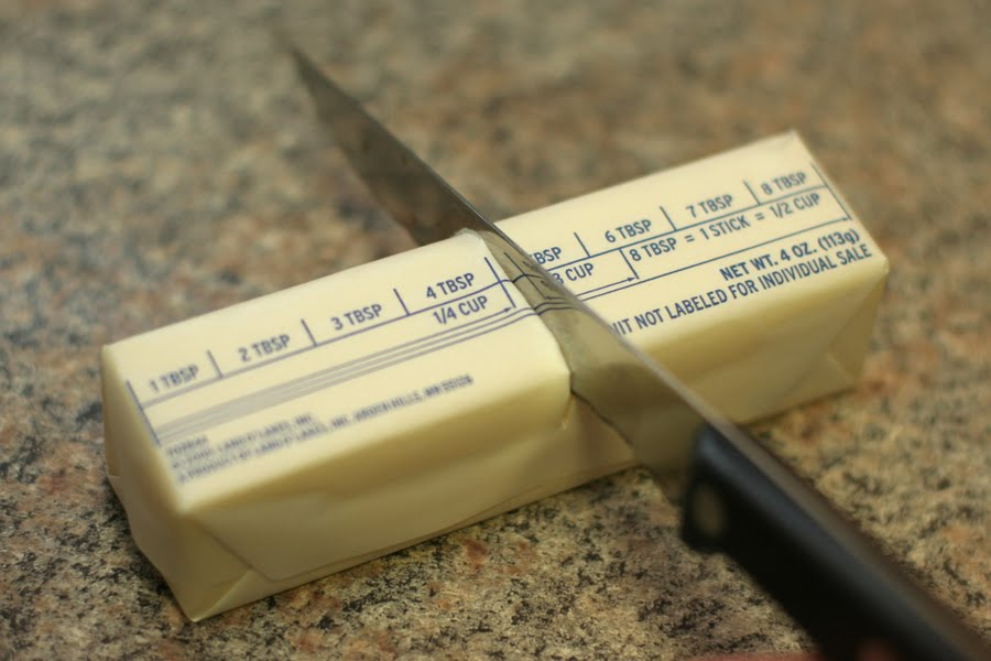 how much is two sticks of butter