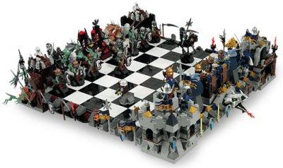 Schackspel: Lego