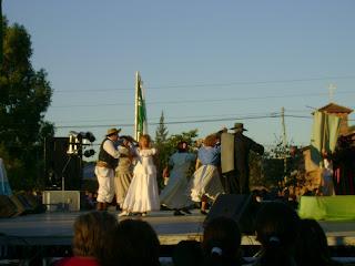 La danza del Cuerpo de Baile La Amistad