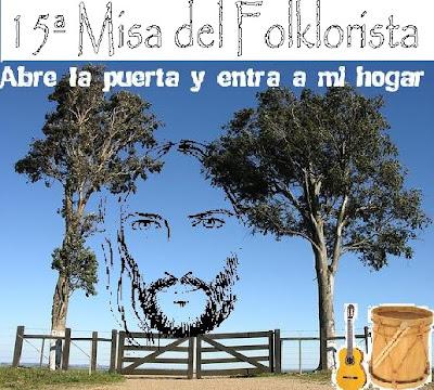 15ta Misa del Folclorista