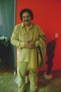 El Turco Ríos posando para Nuestras Raíces (foto:Pablito)