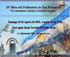 Misa del Folklorista 2010