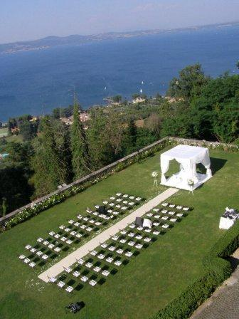 Castle Odescalchi on Lake Bracciano