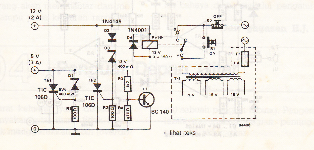 Pengaman catu daya mikrokomputer elektronika bilamana bagian 5 v danatau 12 v dari sebuah catu daya mikrokomputer tidak bekerja rni bias berakibat satu dari dua hal catu akan terlalu tinggr atau ccuart Gallery