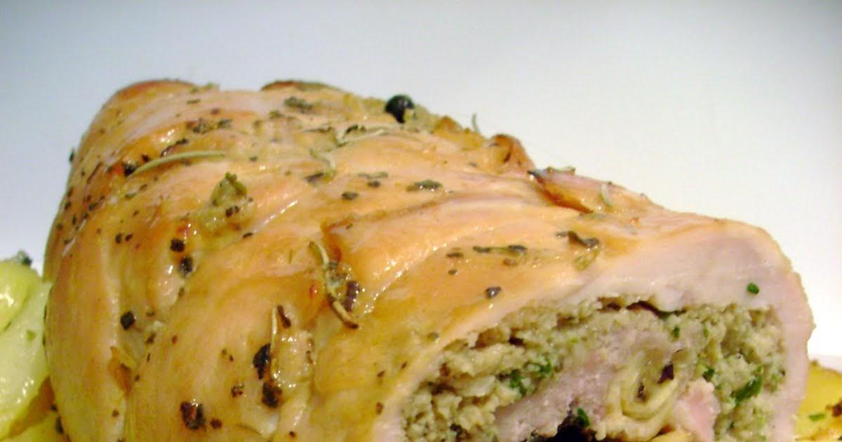 Simplemente cocinera carnes rellenas para las fiestas - Pavo con castanas ...