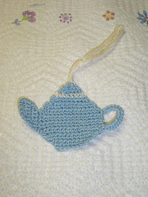 Teapot Bookmark Pattern | AllFreeCrochet.com