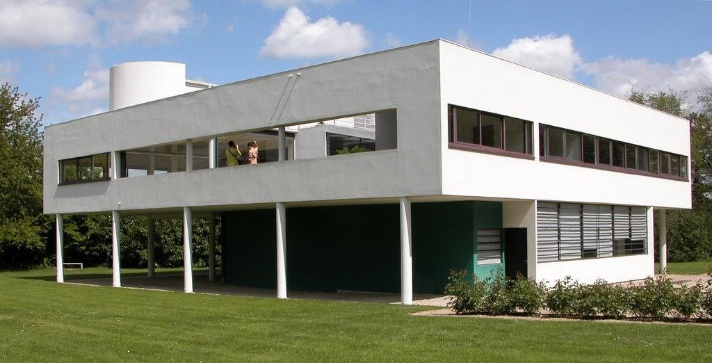 Villa saboya le corbusier poissy 1929 blog - Casas de le corbusier ...