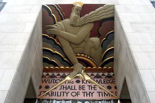 Edificio RCA Figura entrada
