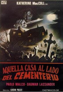 Aquella Casa Al Lado Del Cementerio Poster