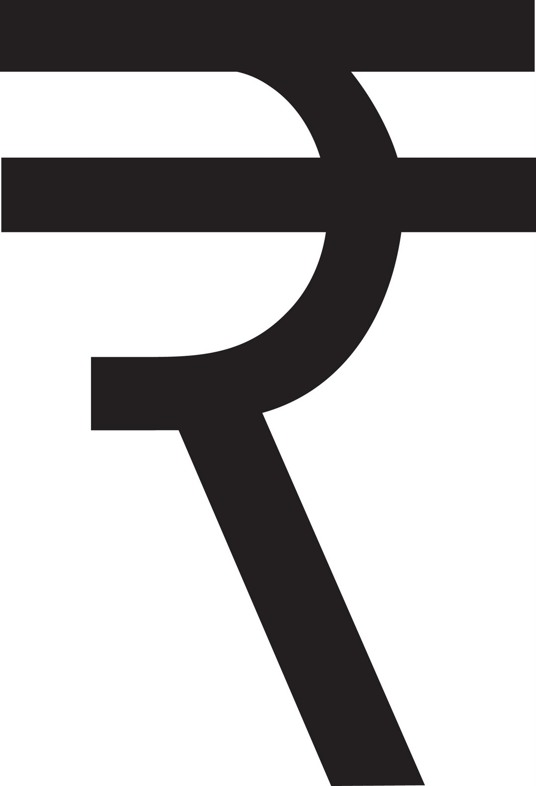 Indian Rupee Currency Symbol - Use keyboard shortcut
