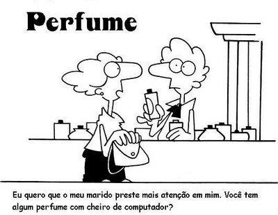 Perfume essência computador