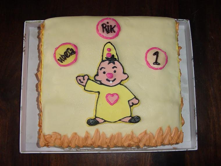 Bumba taart voor Rik