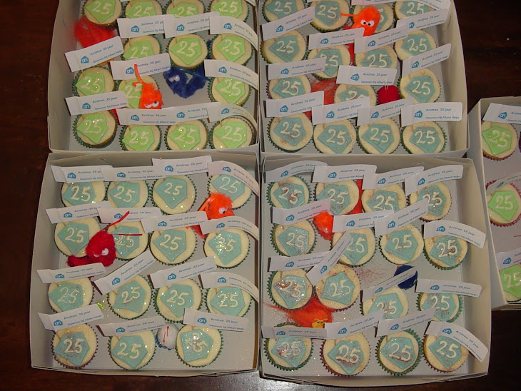 70 taartjes voor Andrea