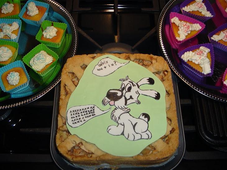 Idéfix (Asterix en Obelix taart)