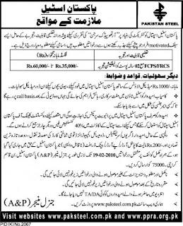 Orthopedic Surgeon Required in Pakistan Steel - Karachi 29-420x518