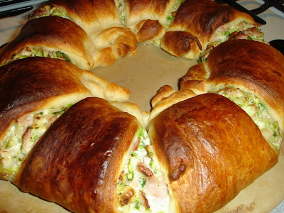 Pampered chef wreath recipe