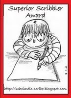 Superior Scribbler Award