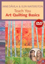 At Home with the Experts: Jane Davila &amp; Elin Waterston Teach You Art Quilting Basics
