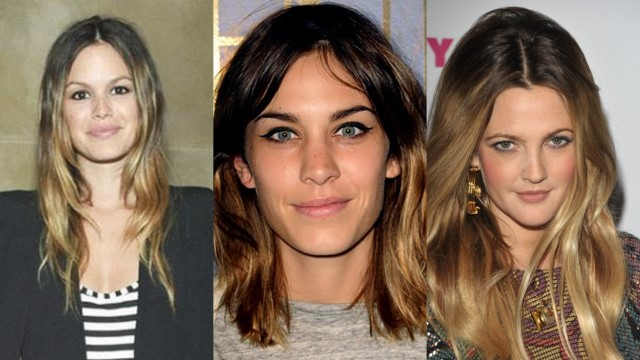 Liquorice pearls january 2011 ombre is it is basically a graduation of usually brown through to light brown or blonde at the bottom section of the hair celebs like alexa chung solutioingenieria Choice Image