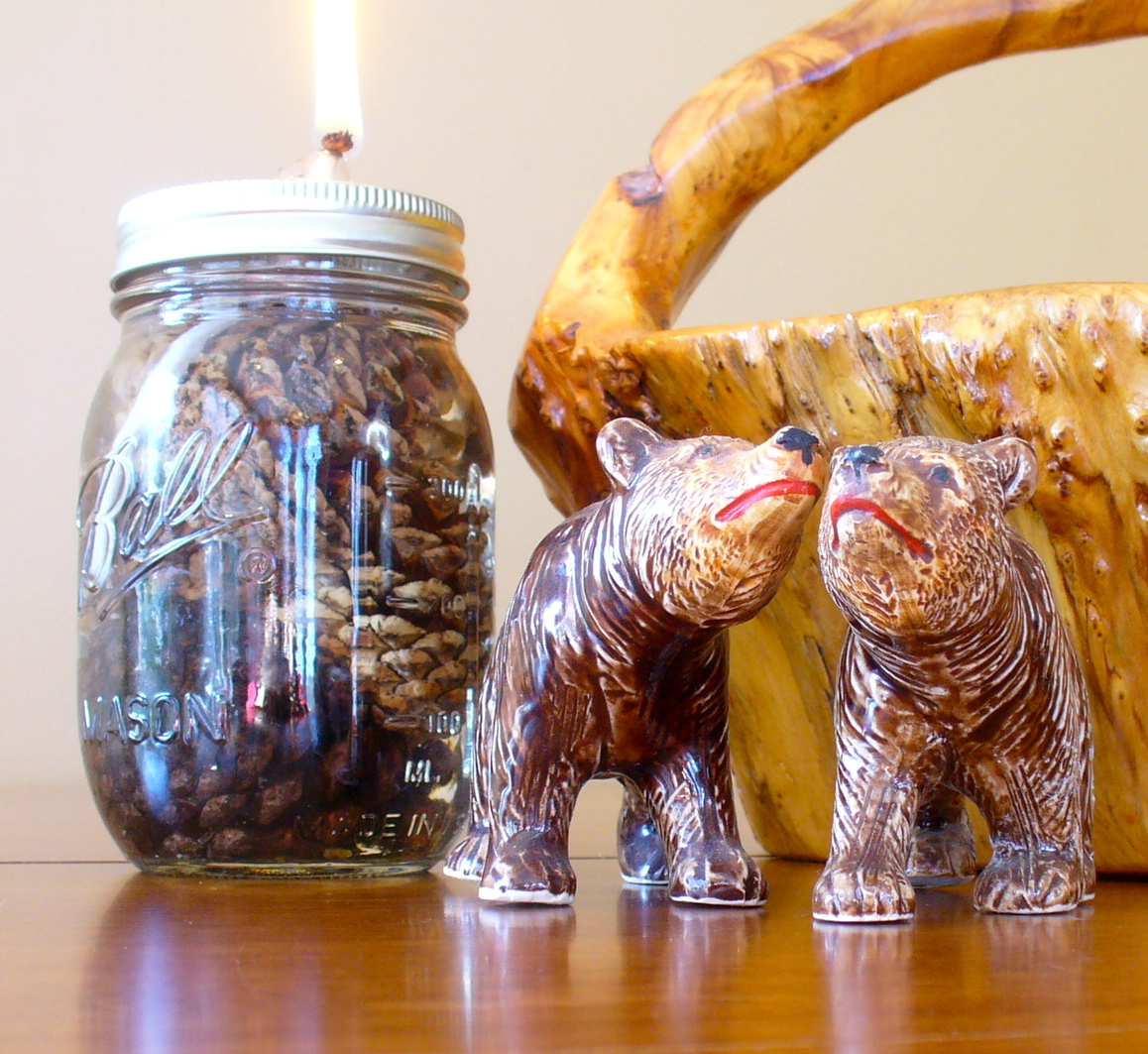 how to make lamp oil candles