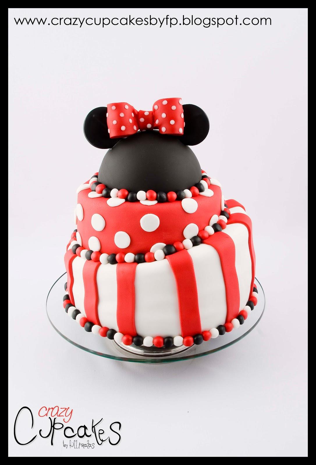 El Primer A  O De Candela Preparamos Una Torta Muy Divertida De Minnie