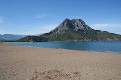 La plage d'Adrasan à 60 mn de Finike