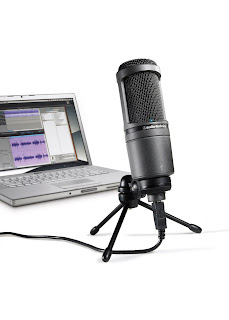 Audio-Technica AT2020 USB Condenser USB Microphone