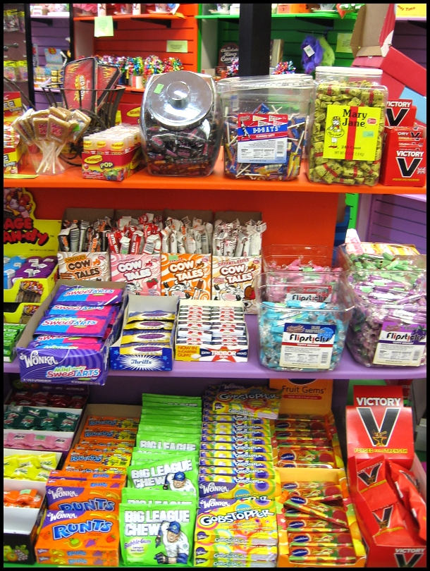 to be eating candy cigarettes and chewing bubble gum cigars