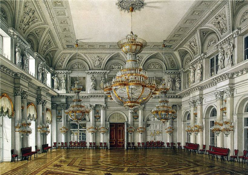 Amazing Painted Russian Palace Wallpaper Seen On  www.coolpicturegallery.us