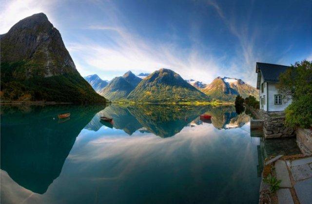 wallpaper pemandangan, gambar pemandangan, alami