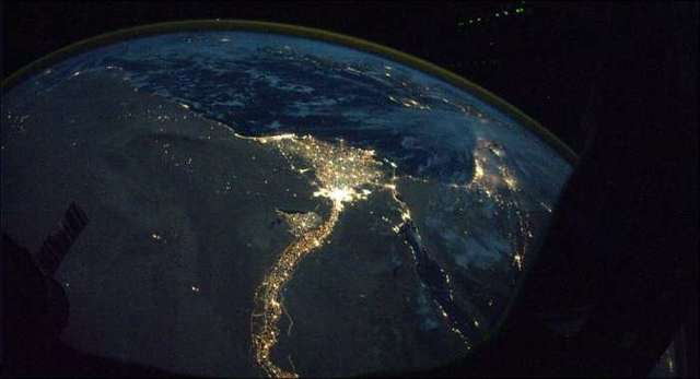 Earth  From Space Seen On www.coolpicturegallery.us