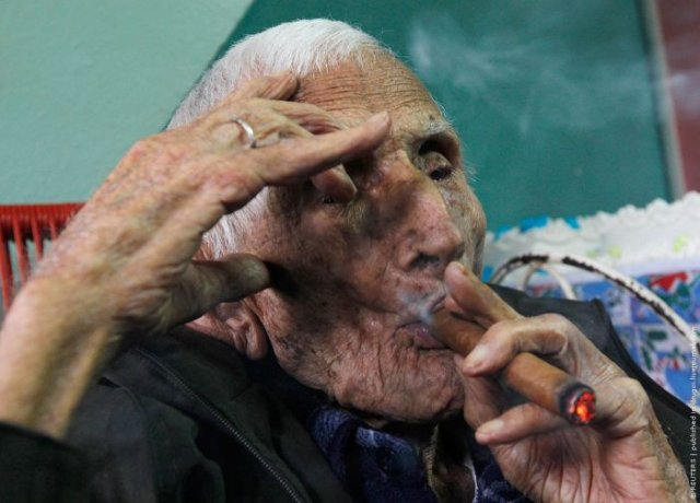 Cuban 111 Year Old Man Birthday Seen On www.coolpicturegallery.us