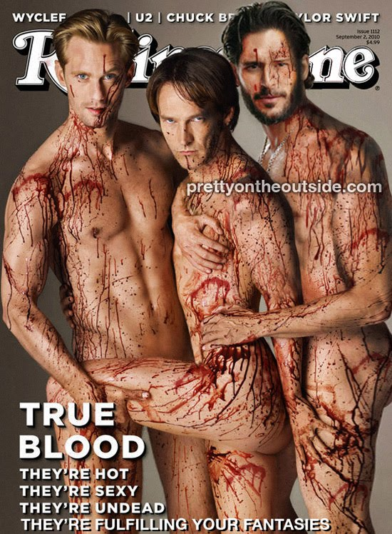 true blood rolling stone poster. true blood rolling stone cover